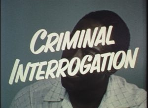 Criminal Interrogation