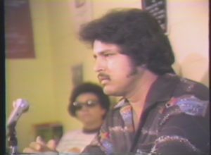 La Raza Meeting for Larry Ortega Lozano (1978)