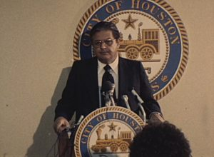 Press Conference about Moody Park Riot (1978)